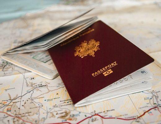 Les documents pour son voyage aux États-Unis