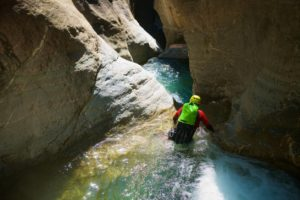 apprendre le canyoning